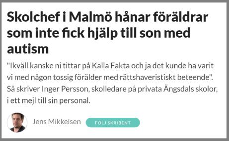 skolchef i Malmö hånar